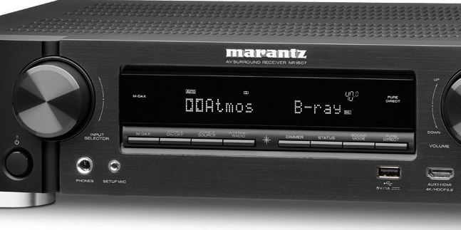 Review of the Marantz NR1607 Ultra HD Network AV Receiver