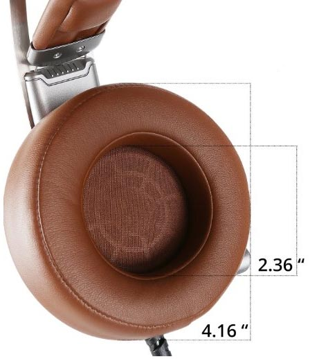 earcup size