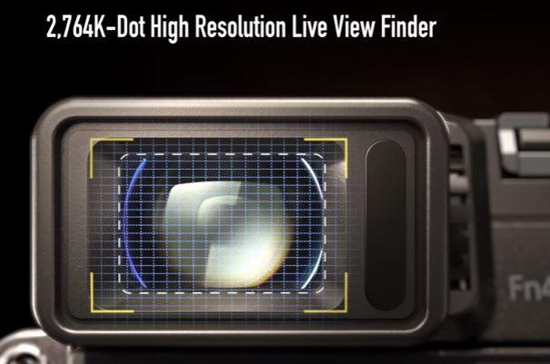GX85 viewfinder
