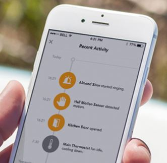 Almond 3 Home Security