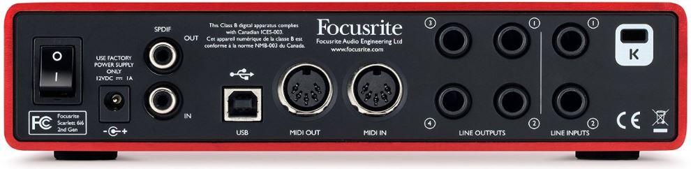 Focusrite-Scarlett-6i6 back