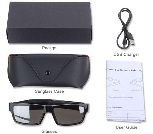 TENKLOV HD Polarized Spy Sunglasses