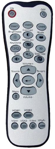 Optoma HD142X remote