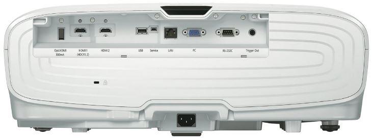 Epson 5040Ube back input output