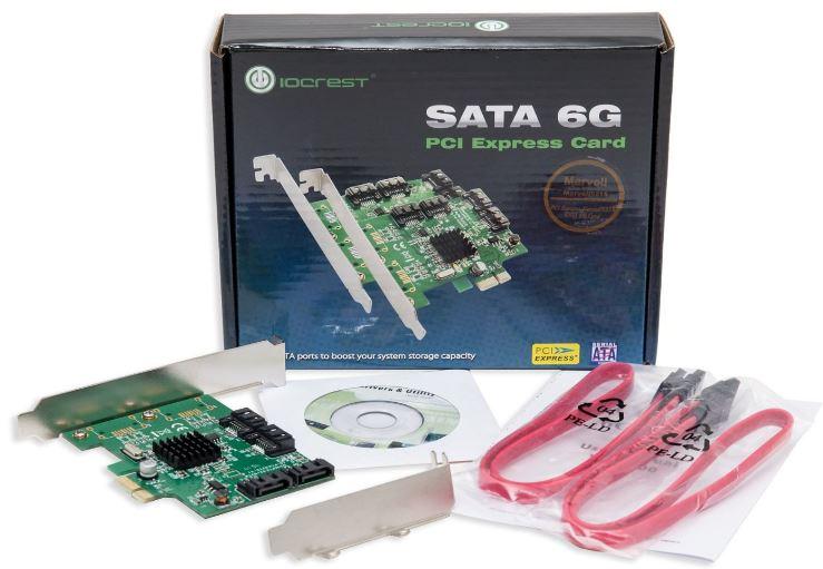 IO Crest 4 Port SATA III Controller Card