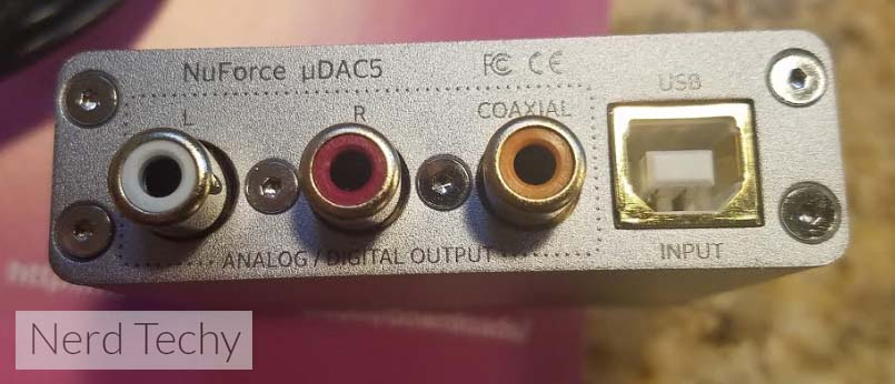 NuForce uDAC5
