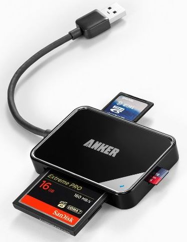 Anker 4-Slot Card Reader