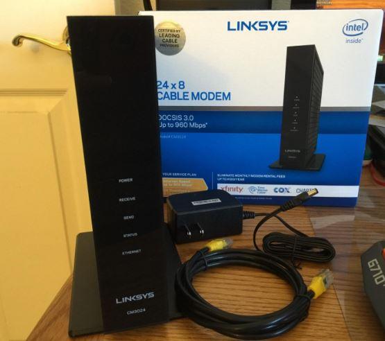Linksys CM3024 Cable Modem