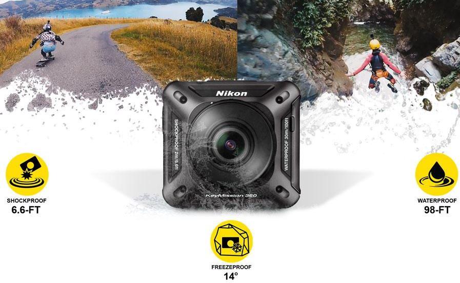 Nikon KeyMission 360 durability