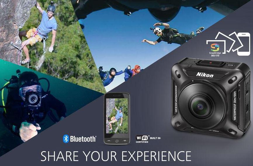 Nikon KeyMission 360 app