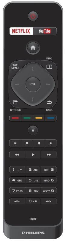 Philips BDP7501 Remote