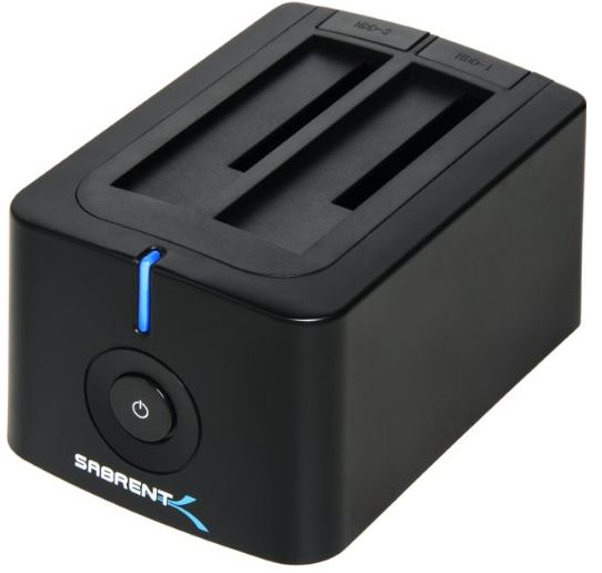 Sabrent Dual Bay External Hard Drive Docking Station