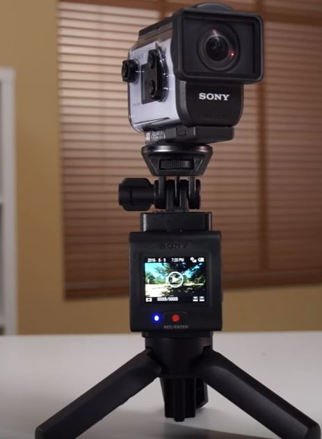 Action camera microphone