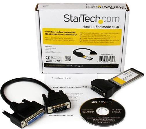 StarTech-1-Port-ExpressCard-Laptop-Parallel-Adapter-Card