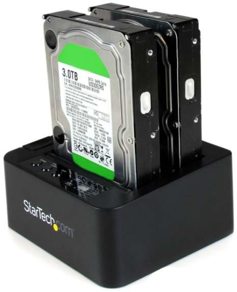 StarTech SATA Hard Drive Duplicator Dock