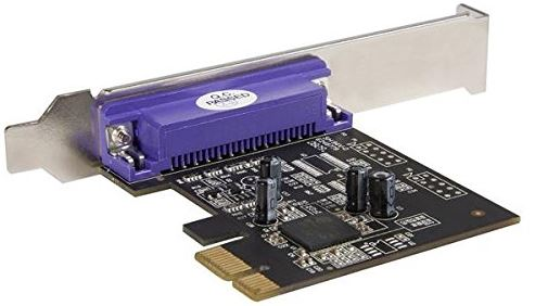 StarTech PCI Express Dual Link Profile Parallel Adapter Card