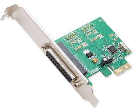 Syba DB25 Parallel PCIe x1 Controller Card