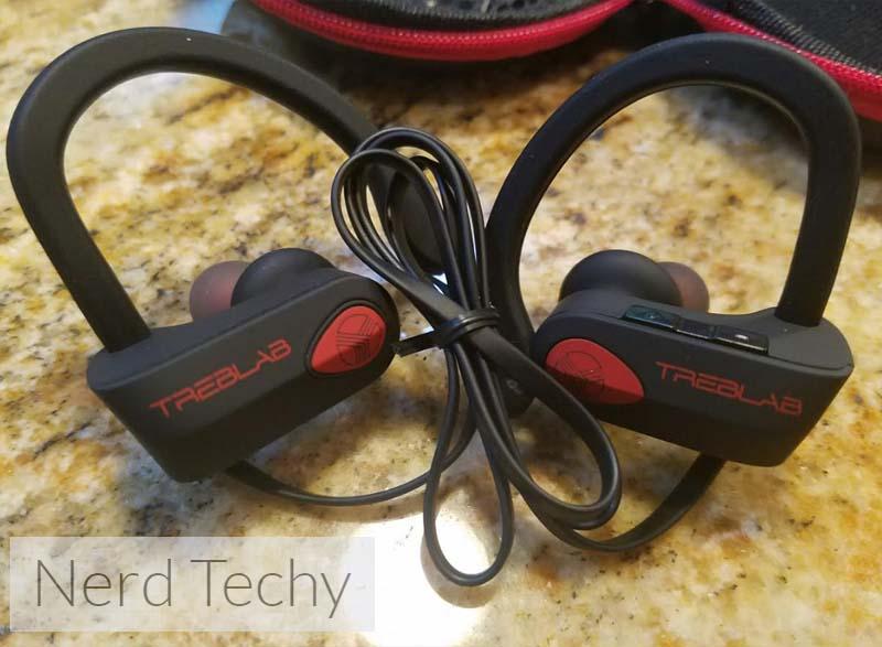 treblab xr500 bluetooth earbuds review nerd techy. Black Bedroom Furniture Sets. Home Design Ideas