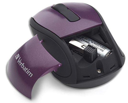 Verbatim Wireless Mini Nano Travel Mouse