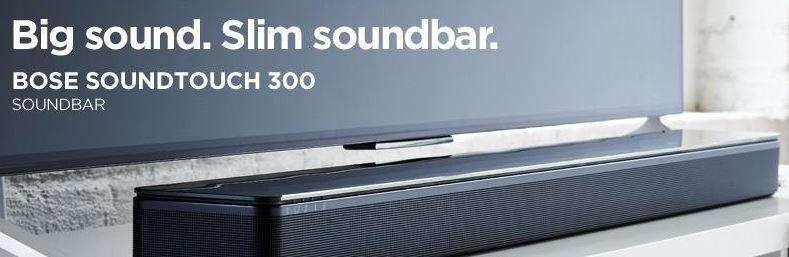 bose 130 soundtouch. bose-soundtouch-300-soundbar bose 130 soundtouch