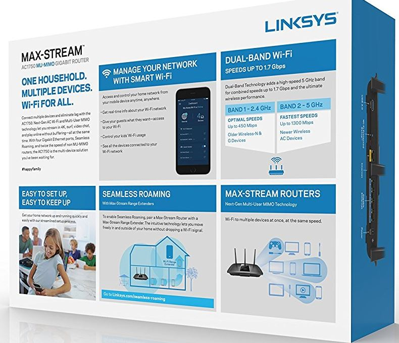 Linksys Max Stream EA7300