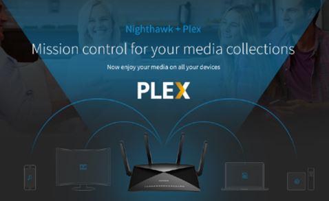 Nighthawk X10 Plex
