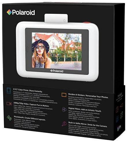 Polaroid Snap Touch box back