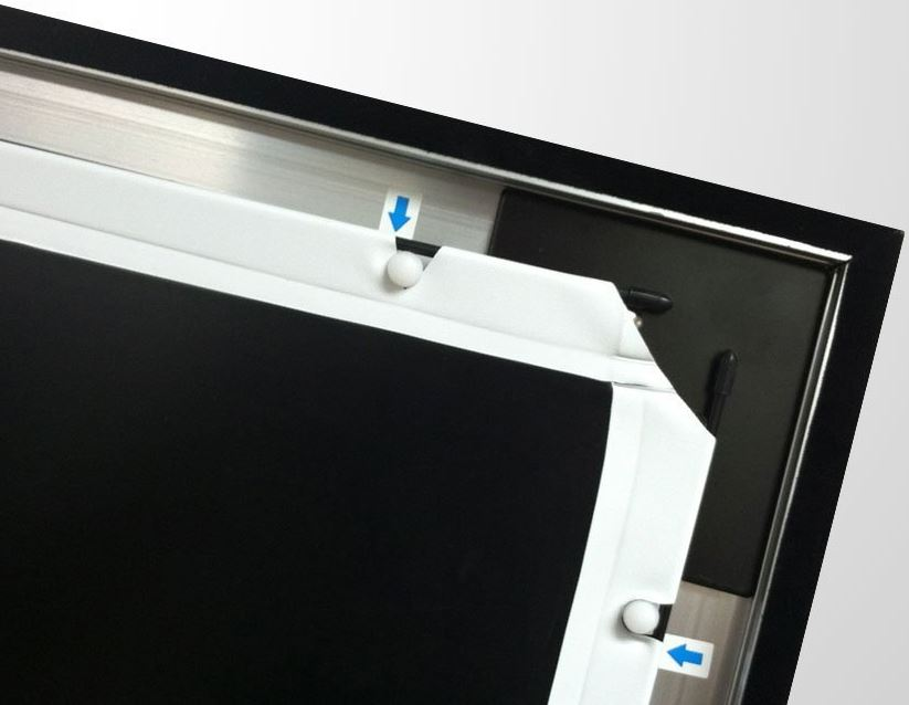 Silver Ticket Products Projector Screen