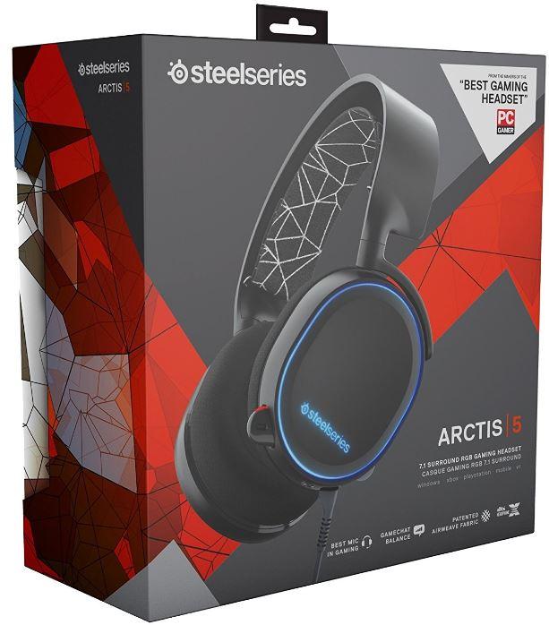 Arctis 5 box
