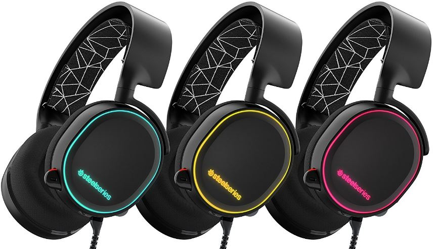 SteelSeries Arctis 5 multi color RGB