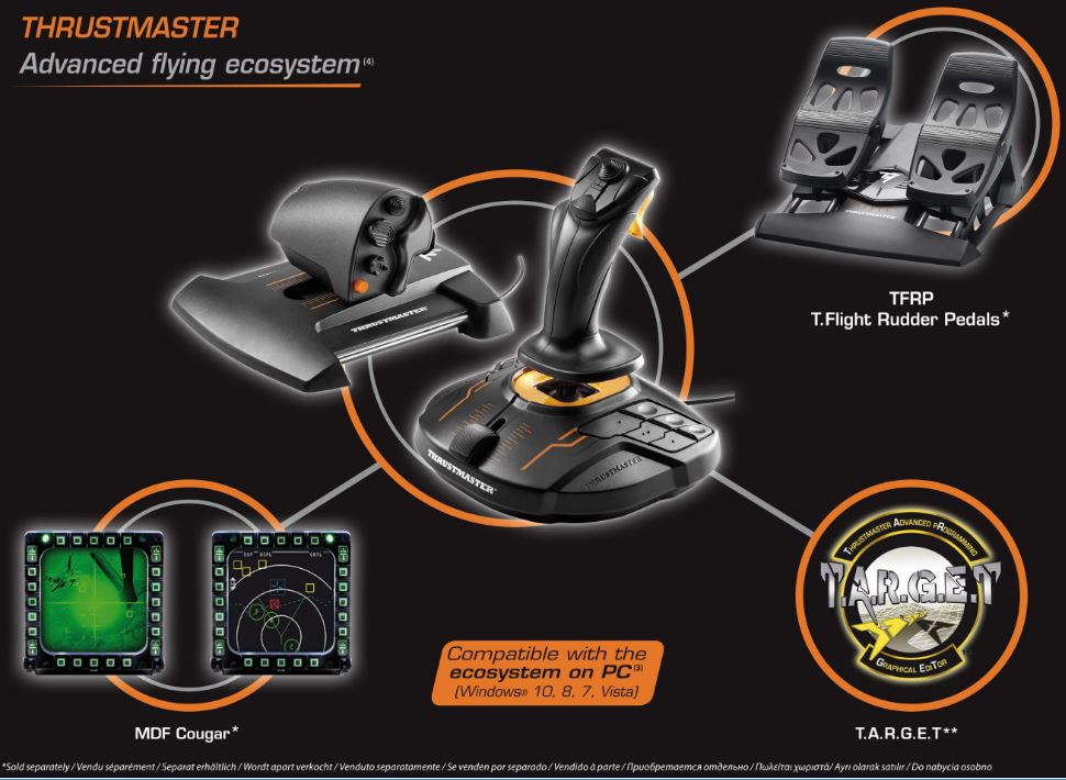 First-Look Review of the Thrustmaster VG T 16000M FCS HOTAS Controller