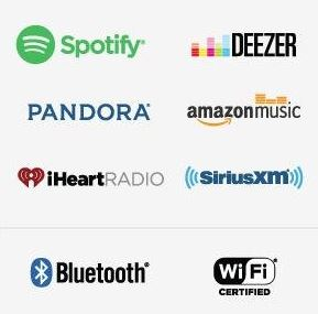 streaming music from soundbar