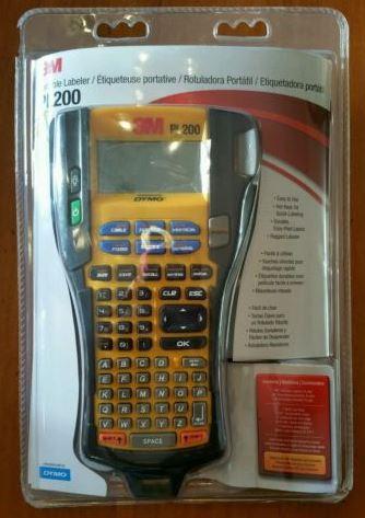 3M Handheld Portable Labeler PL200