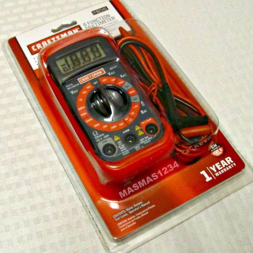 Craftsman 23-82141 Digital Multimeter