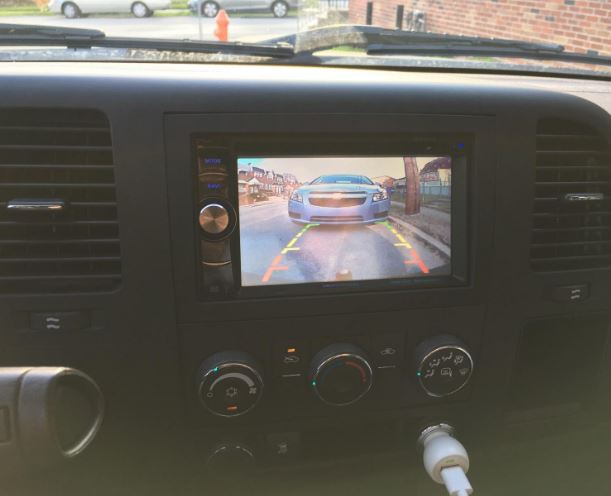 Esky Universal Rear View Camera