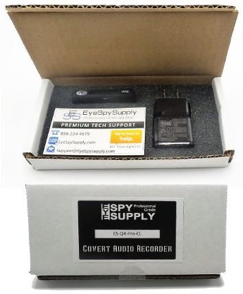 EyeSpy Professional Grade Covert Recording Device