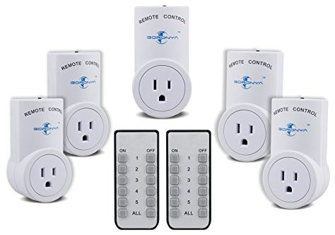 Goronya Wireless Remote Outlet Switch