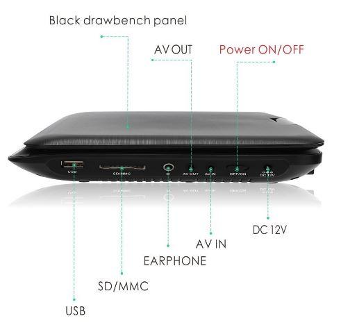 Naviskauto Portable DVD Player