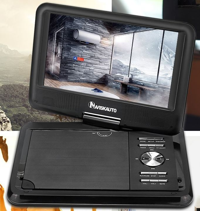 reviews of the best portable dvd players 2017 2018 nerd. Black Bedroom Furniture Sets. Home Design Ideas
