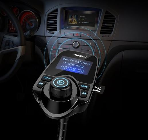 Nulaxy Wireless In-Car Bluetooth Transmitter