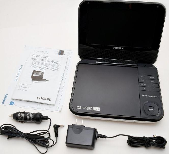 Philips PET741M-37 Portable DVD Player