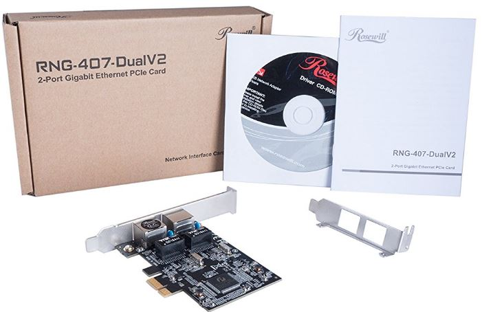 Rosewill Gigabit PCIe Network Adapter