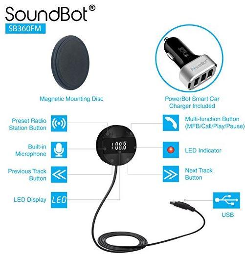 SoundBot SB360FM