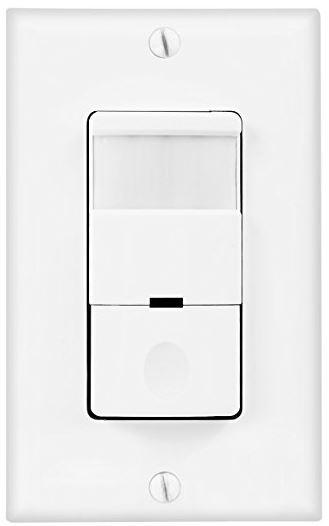 Wall Motion Sensor Light Switch: Topgreener TDOS5-J,Lighting