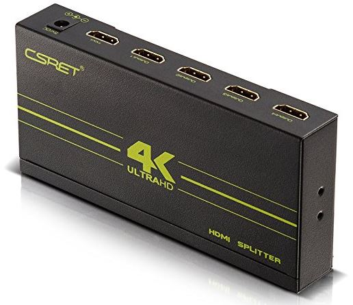 CSRET Ultra HD HDMI Splitter