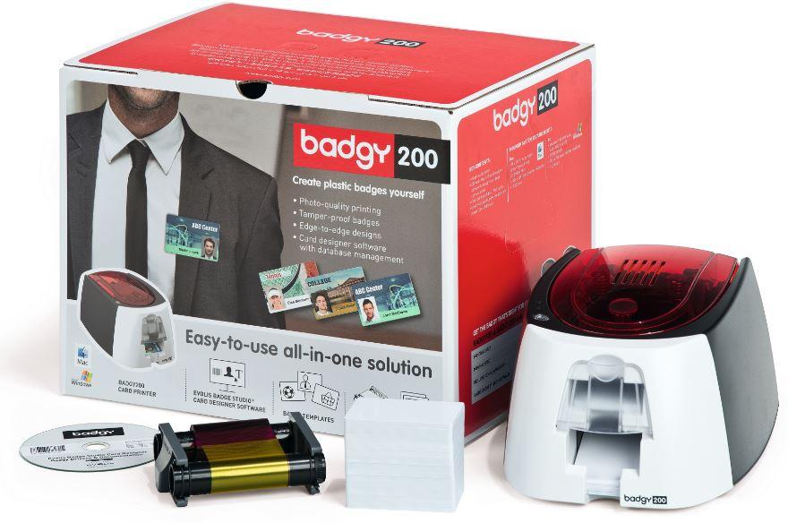 evolis badgy200 - Credit Card Printer