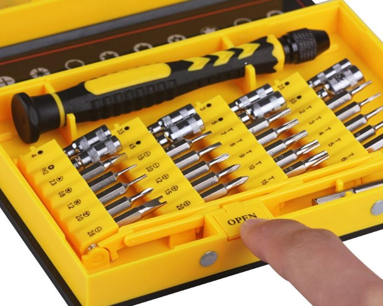 Floureon 38-Piece Repair Tool Kit