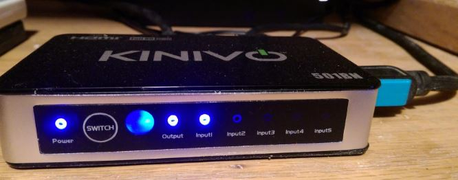Kinivo 501BN HDMI Switch