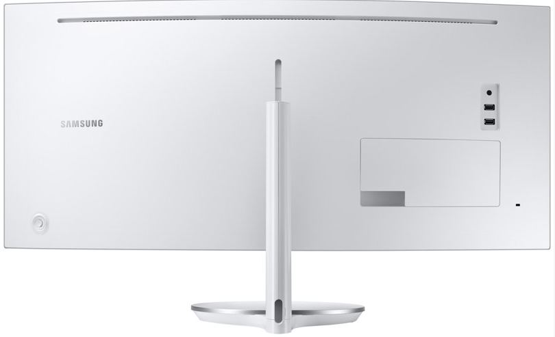 Samsung CF791 back view