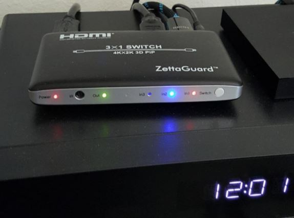 Zettaguard HDMI Switch